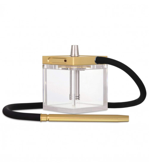 Jet Pack Hookah Black Gold